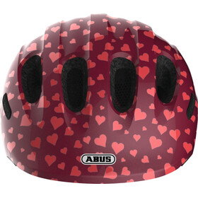 ABUS Smiley 2.0 Casco Bambino, cherry heart